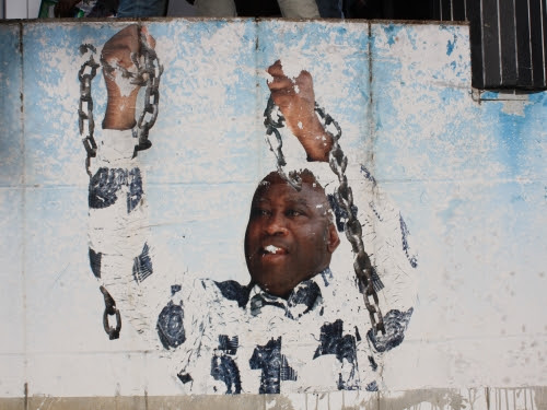 former president of the Ivory Coast Laurent Gbagbo. Image: Clara Sanchiz/Flickr