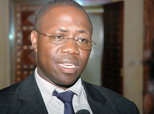 Local government minister Adolf Mwesigye