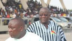 Kwabena Agyepong and Paul Afoko