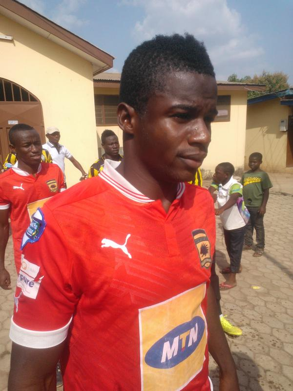 Ahmed Toure suffering from malaria