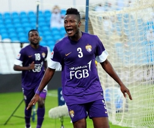 Asamoah Gyan is set to leave Al Ain