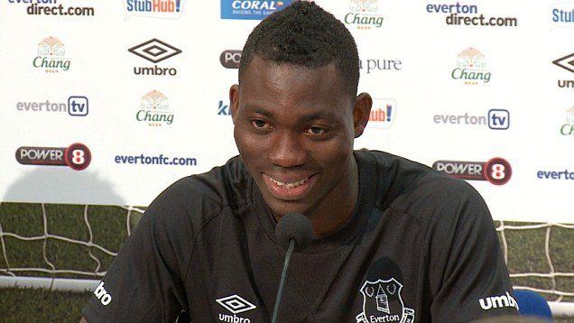 Atsu endured a torrid time at Everton