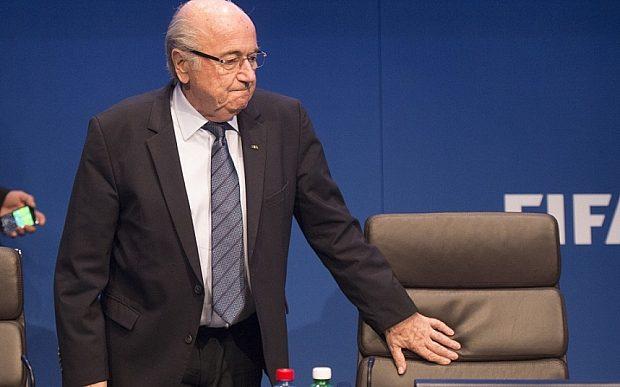 Mandatory Credit: Photo by REX Shutterstock (4805674ad) Sepp Blatter 65th FIFA Congress, Zurich, Switzerland - 30 May 2015