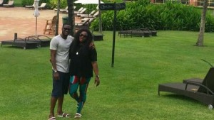England-based Nigeria striker Brown Ideye has hailed Ghana as a 'nice country' after returning to West Brom for pre-season after spending his summer holidays in the country with his family.