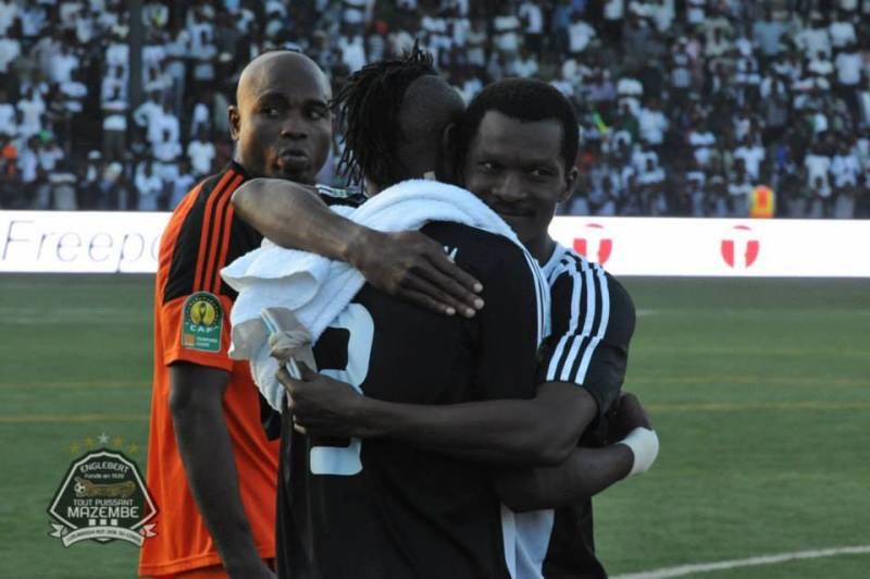 Daniel Nii Adjei scored for TP Mazembe