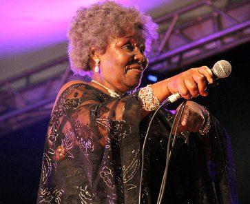 Veteran South African singer Dorothy Masuka, aka Aunty Dot