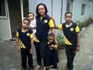 Emeka Ike family