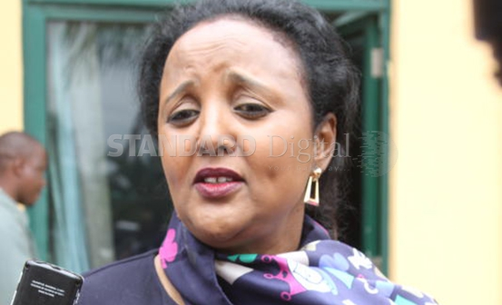Foreign Affairs and International Trade Cabinet Secretary Amina Mohamed