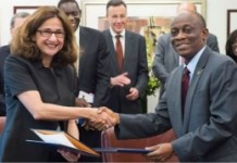 Ghana is expecting the 2nd tranche of $100m in Augus