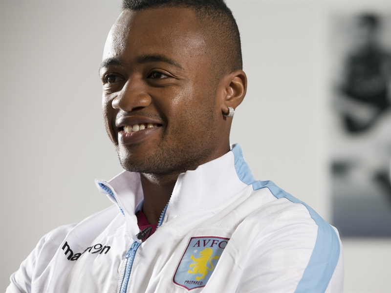 Images as Jordan Ayew enjoys his first day as a Villa player at Bodymoor Heath training complex. Pictures by Neville Williams/Aston Villa/Getty Image