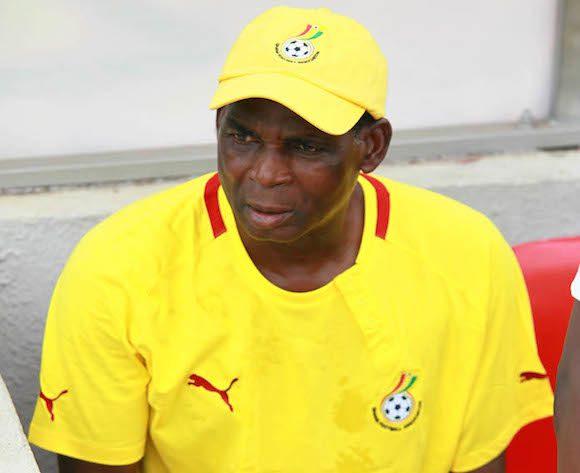 Coach Malik Jabir of Ghana at the U-23 African Championship 2015 Qualifiers ?Christian Thompson/BackpagePix