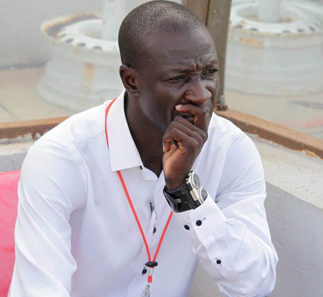Coach Mas-Ud Didi Dramani of Asanti Kotoko at the Glo Premier League ?Christian Thompson/BackpagePix