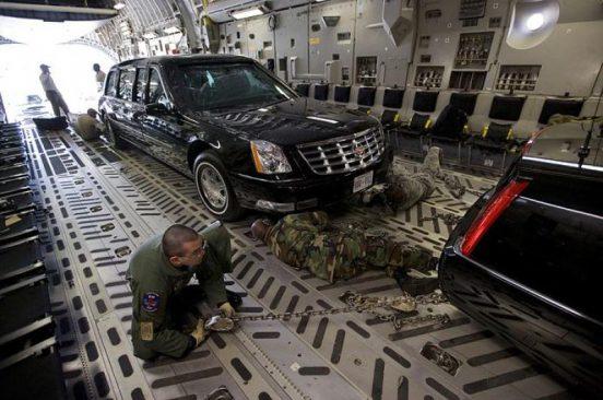 Obama vehicles arrive in Nairobi 1