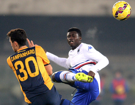 Sampdoria are ready to sell Alfred Duncan