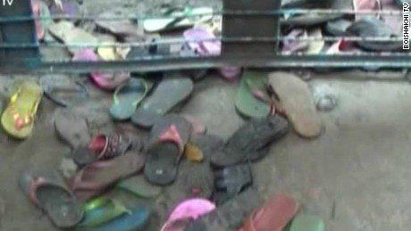 Stampede at Bangladesh clothes handout kills 23