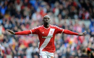 MIDDLESBROUGH manager Aitor Karanka believes his Ghanaian winger Albert Adomah is showing signs of being ready for the season after second-half doubles for the Ghanaian winger and his team-mate Kike saw off League One Barnsley.