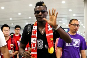 Asamoah Gyan has completed his move from Al Ain to Shanghai SIPG after signing a two-year deal with the Chinese Super League club, the Ghana striker said on Friday.