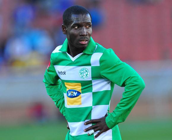 Ghanaian defender John Arwuah