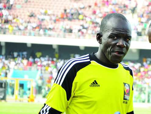 Former Ghana goalie Abubar Damba