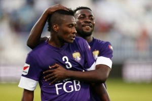 Nigeria international striker Emmanuel Emenike fired blanks on a losing debut for United Arab Emirates club Al Ain on Tuesday after being signed to replace Ghana attacker Asamoah Gyan.