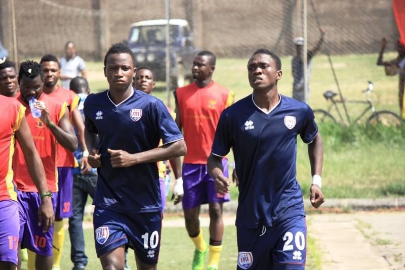 Inter Allies duo Prosper Kassim Sabah Lawson