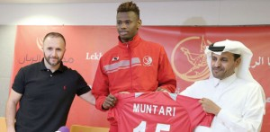 Mega-rich Qatari side Lekhwiya Sports Club have completed the signing of young and highly talented Ghanaian striker Mohammed Muntari in a multi-million dollar move.