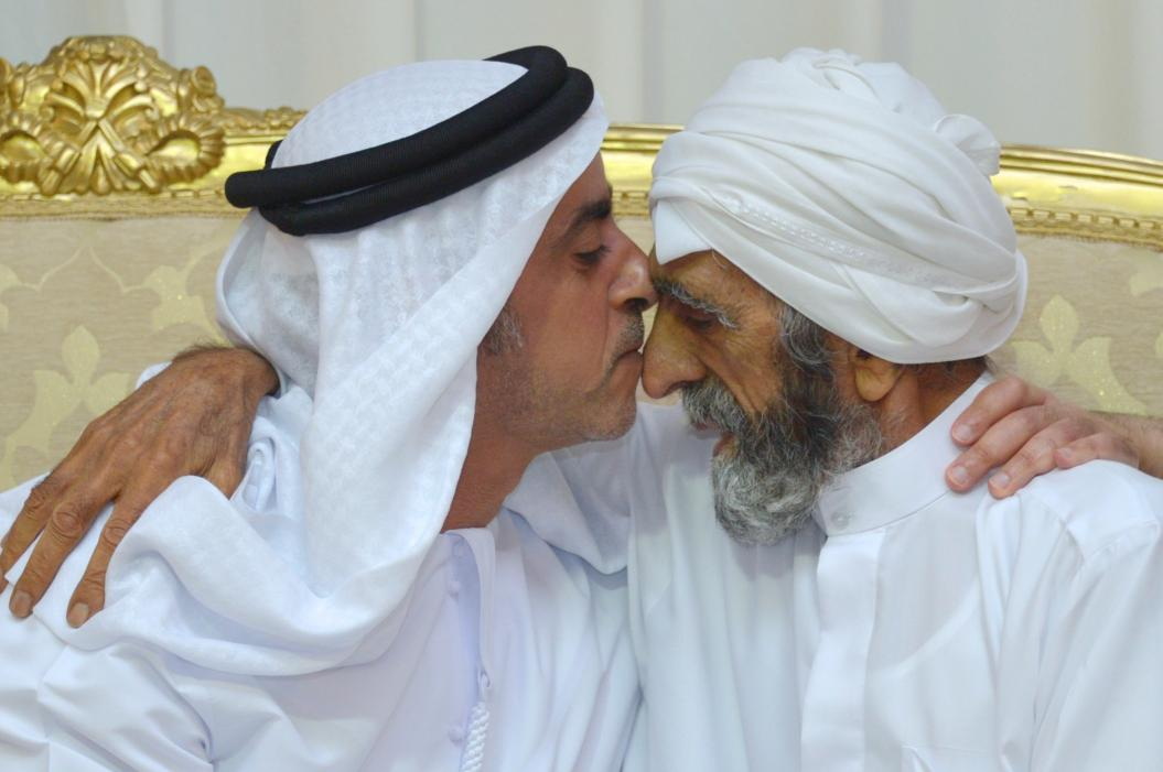 Saif bin Zayed Offers Condolences to Family of Martyr Abdurrahman Al Bloushi