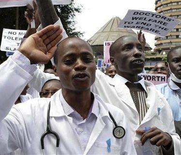 Doctors strike new