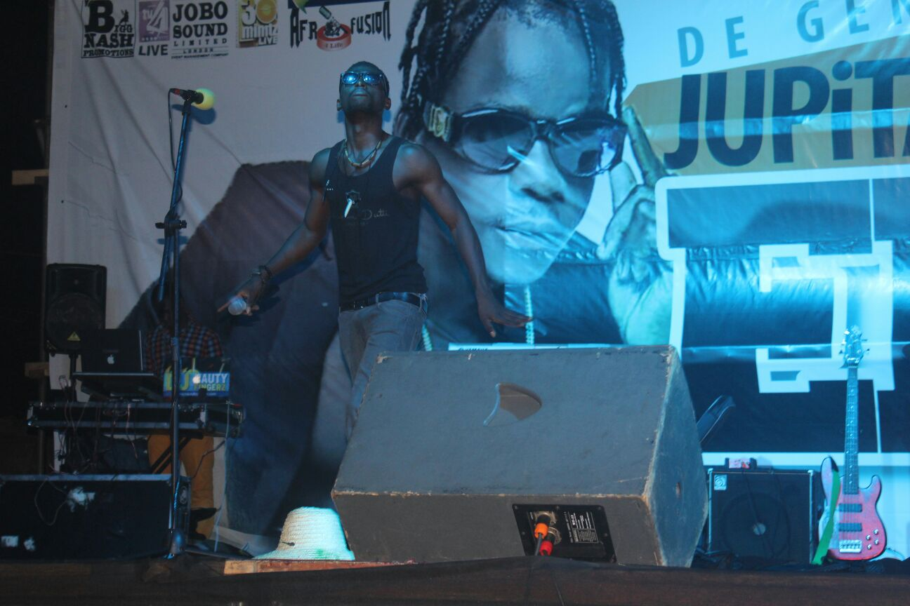 Myron AK performs at enemies concert