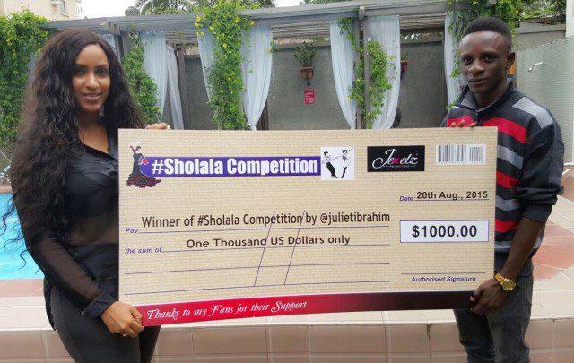 Juliet Ibrahim & Sholala Winner