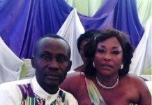 Mr. Daniel Osei and his new wife Kyeiwaa
