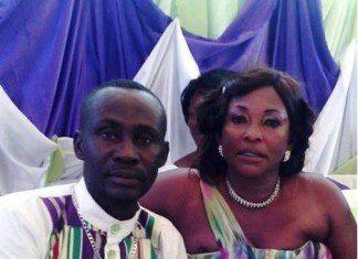 Mr. Daniel Osei and his new wife Kyeiwaa