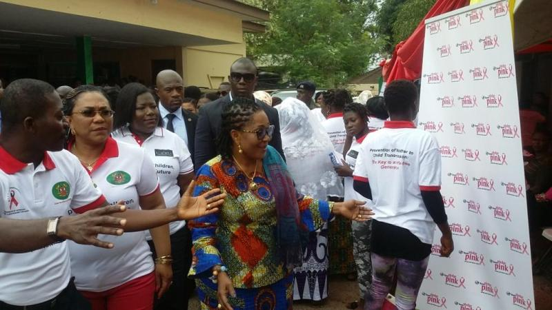 First lady tackles women's health in Accra