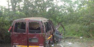 Accident van (Library Photo)