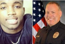 Murdered boy and rookie police offiicer