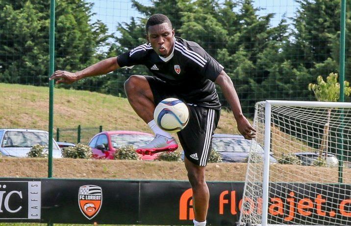 Abdul Majeed Waris in Lorient training