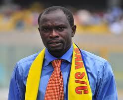 Former Ghana skipper C.K Akunnor