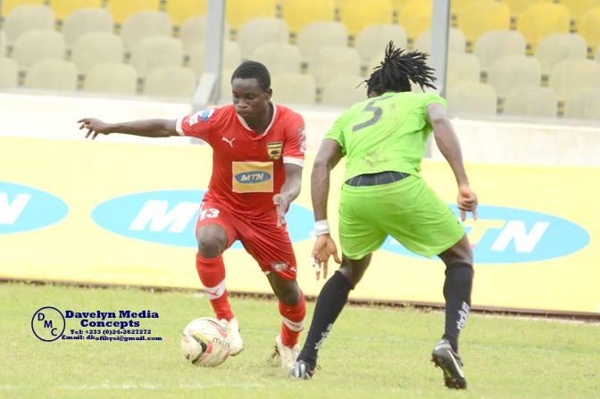 Asante Kotoko striker Dauda Mohammed