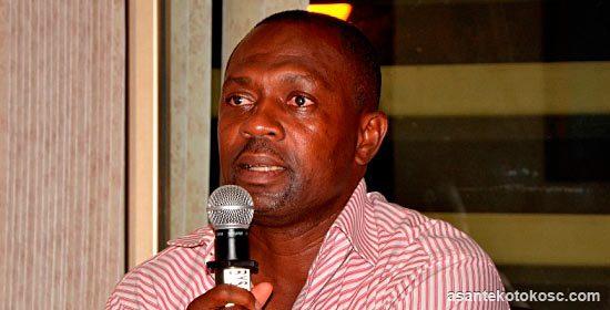 Asante Kotoko General Manager Samuel Opoku Nti
