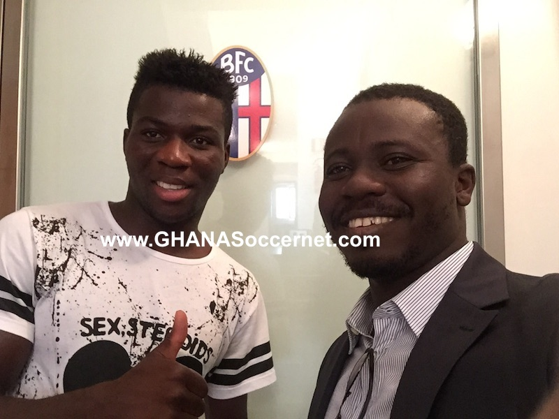 Godfred Donsah finalizes his move to Bologna.
