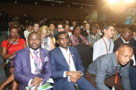 Delegates at the Global Entrepreneurship Summit 2015 held at the United Nations, Nairobi last weekend. Photo: Andrew KILONZI/STANDARD