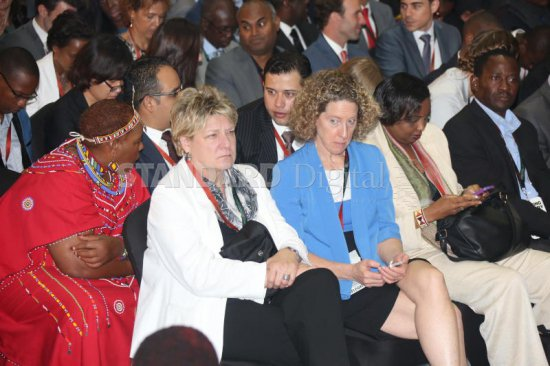 Delegates at the recent Global Entrepreneurship Summit at the United Nations compound in Nairobi. Kenya, which hosted the conference, has lost her place as one of the top 10 investment destinations in Africa. PHOTO: ANDREW KILONZI/STANDARD