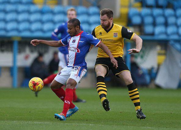 Derek Asamoah scored for Carlisle United