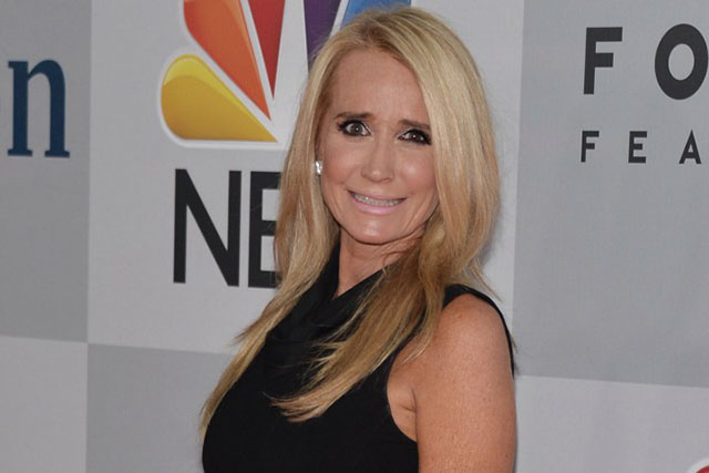 """Former star of """"The Real Housewives of Beverly Hills"""" Kim Richards"""