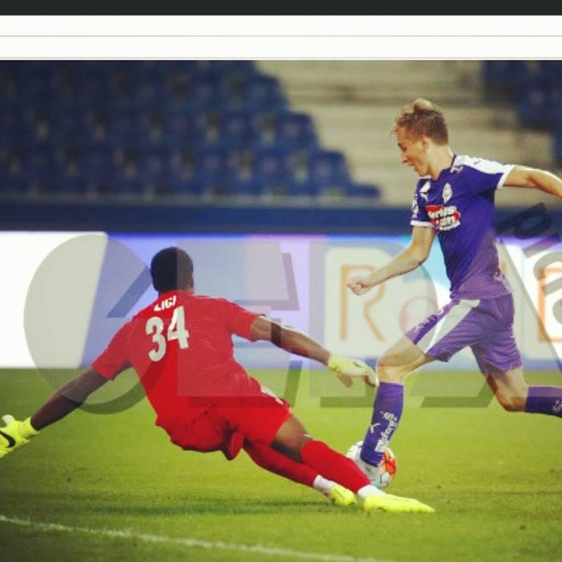 Ghana youth goalkeeper Lawrence Ati