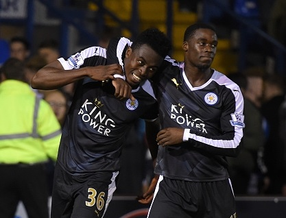 Jeffrey Schlupp assisted Dodoo's third goal as the Ghanaian youngster bagged a hat-trick