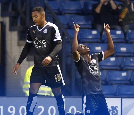 Joe Dodoo netted a hat-trick on his senior debut for Leicester City