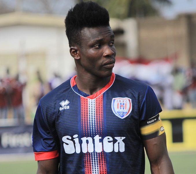 Former Inter Allies skipper Joseph Aidoo