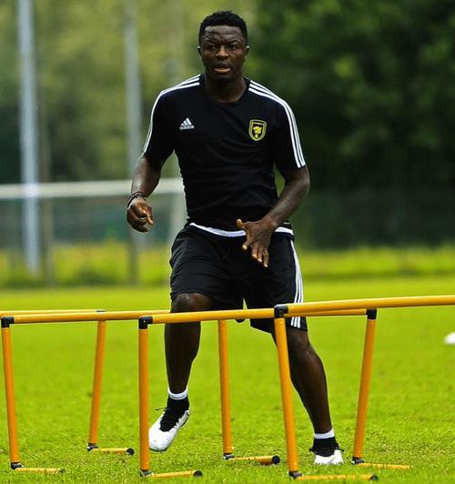 Sulley Muntari training with Saudi Arabian side Al Ittihad