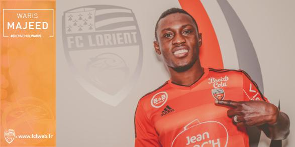 Majeed Waris signed for Lorient